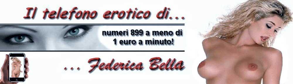 Il telefono erotico di Federica Bella